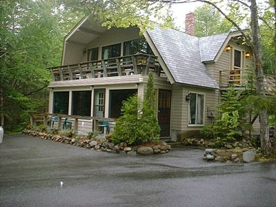 Somesville chalet rental - Somesville Chalet. Acres of Privacy.2 Entrances,Parking areas, front and rear