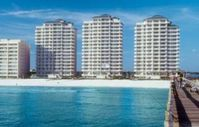 Gorgeous Gulf Blue Water/White Sand Beach just outside your Wrap Around Balcony!