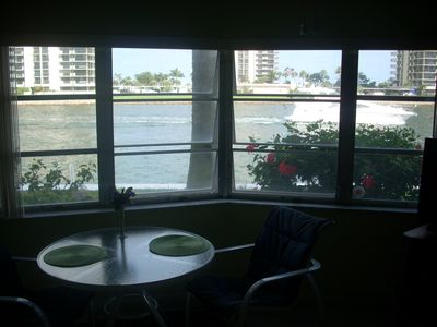 Intracoastal waterway view from living area