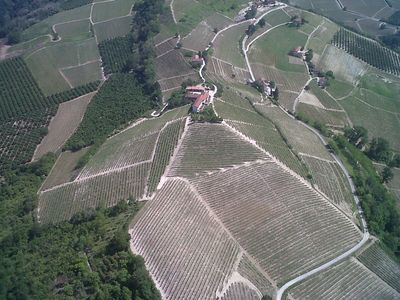Alba house rental - Cascina Bricchetto Langhe situated on top of the hill