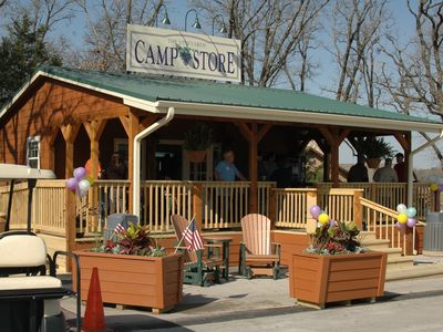 Camp Store on site for your convienence...