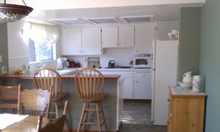 Dine in kitchen - Lake Arrowhead cabin vacation rental photo