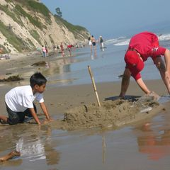 Santa Barbara house photo - Lots of sand for sandcastles!