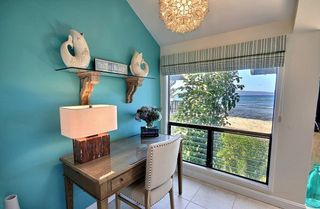 Kahana condo photo - Desk area, off kitchen. (Tough to concentrate on work with the full ocean view!)