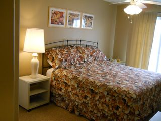 Master Bedroom (King) - Wildwood condo vacation rental photo