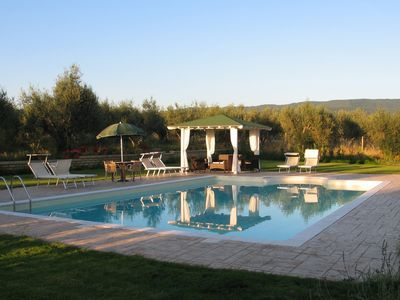 Villa with pool in the countryside 60 km from Rome between Umbria and Tuscany