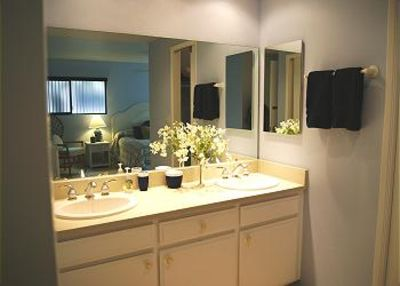 two sink master bath
