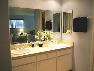 Solana Beach condo photo - two sink master bath