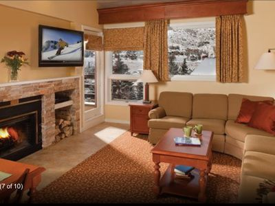 Luxury Marriott Resort Villa ~ 2 full bathrooms ~ Sleeps 6 ~ Close to slopes