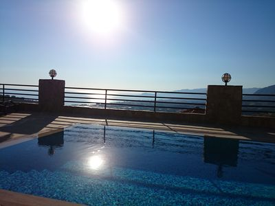 180 m2 villa with stunning sea views, private pool, 3 bedrooms, 2 bathrooms