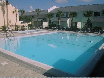 Destin townhome rental - Heated Pool and Kiddie Pool (Jan.-May), 15yds. from Front Door