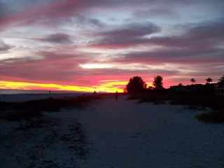 Sanibel Island condo photo - Sunset on the Beach in winter