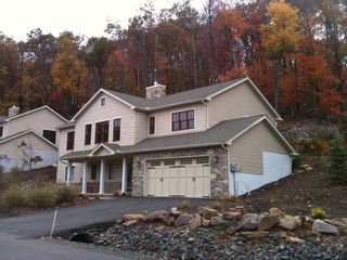 Lake Harmony house photo - Beautiful in the fall. .