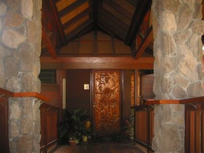 Kalaheo cottage rental - Main Entrance