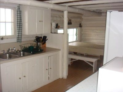 Kitchen of Cabin 8
