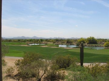Scottsdale Grayhawk condo rental - VIEW FROM SOUTHERN DECK AND GREAT ROOM