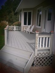 Front Deck - Pentwater house vacation rental photo