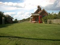 Retired Railway Station converted into two enchanting cottages