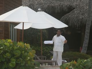 Punta Cana villa photo - Monchy the Butler will attend to your every need.