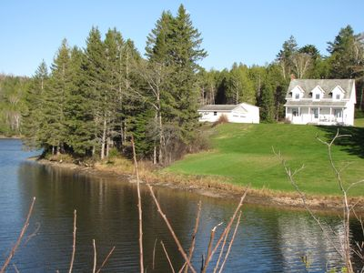 Family WATERFRONT property- with a forest to discover!