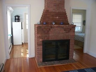 Hyannis - Hyannisport house photo - Cozy brick fireplace