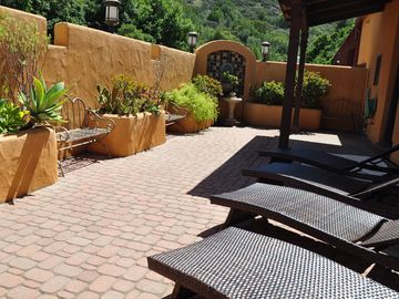 San Luis Obispo cottage rental - Private courtyard.