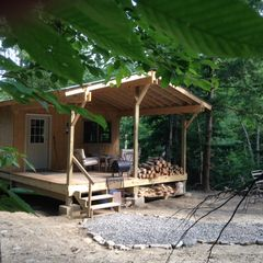 Cabin creek hide away letchworth 100 acre vrbo for Cabins near letchworth state park