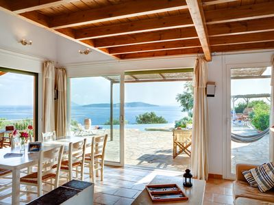 VillasThalassa, Luxury Seafront Villa with Private Pool - Book Online Today