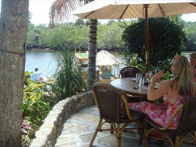 Guanabanas-New Tropical outdoor restaurant w kayaking nearby in Jupiter