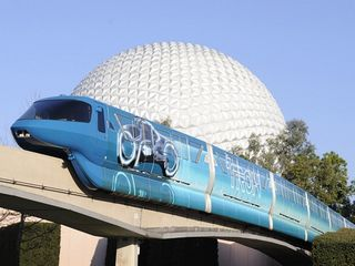Lake Buena Vista condo photo - Tron: Legacy - EPCOT monorail