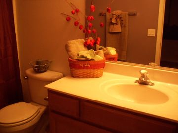 2 bdrm bath. Tub/shower combination