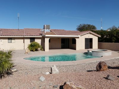 Lake Havasu City house rental - BACKYARD POOL SPA