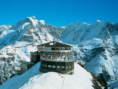 Lauterbrunnen apartment rental - Schilthorn Piz Gloria James Bond 007