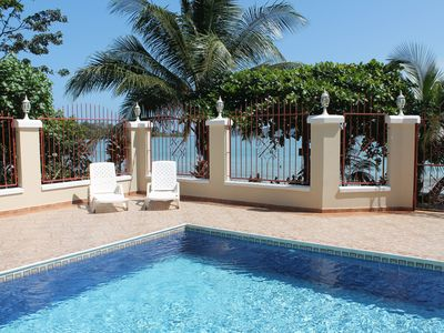 image for The BEST for LESS $$! ONLY BEACHFRONT in Bocas! with A/C, POOL, KAYAKS & BIKES!