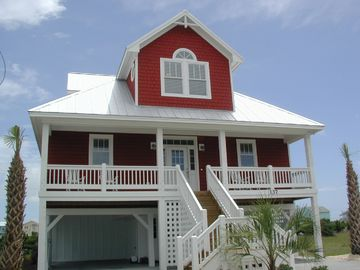 Kure Beach house rental - Front of house