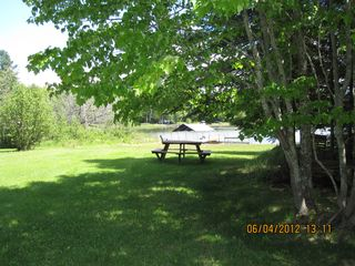 Munising cottage photo - Large yard for playing.