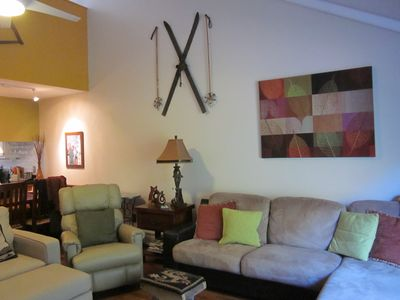 Family room on main floor