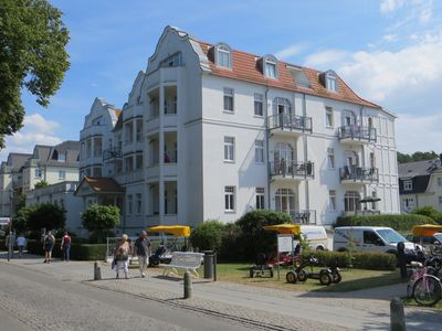 4 **** comfort 2 Zi. Apartment with sea views, right on the beach and promenade