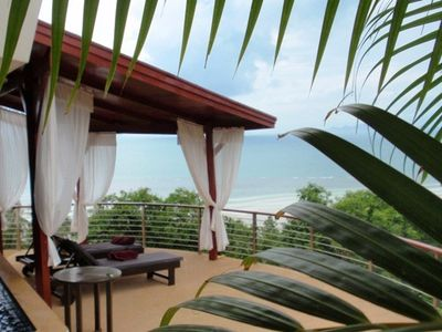 Ban Bang Makham villa rental - Waterfall Balcony Sala