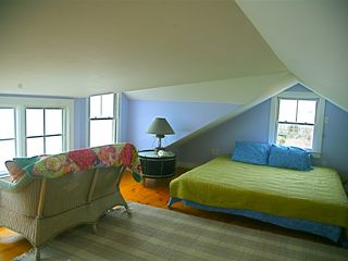 Chilmark cottage photo - A loft bedroom more like a ship!