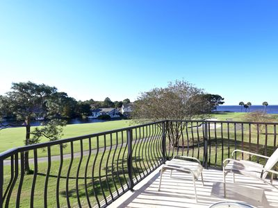 5 star Lovely  4 BR/3.5 Bath with GOLF CART & Amazing Bay and Golf Vie