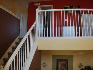 Kissimmee villa photo - Front door entrance with 2nd floor stair view