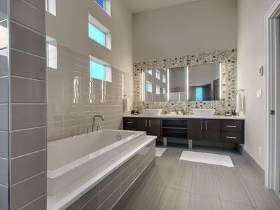 Master Bath Rivals Any 5 Star Hotel Spa