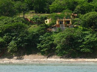 San Juan del Sur villa photo - view of the house from the water