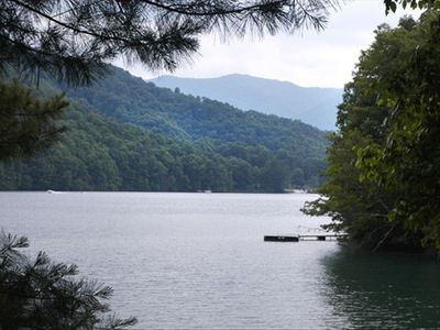 At 3000 feet, Nantahala Lake sits high in the Western North Carolina mountains