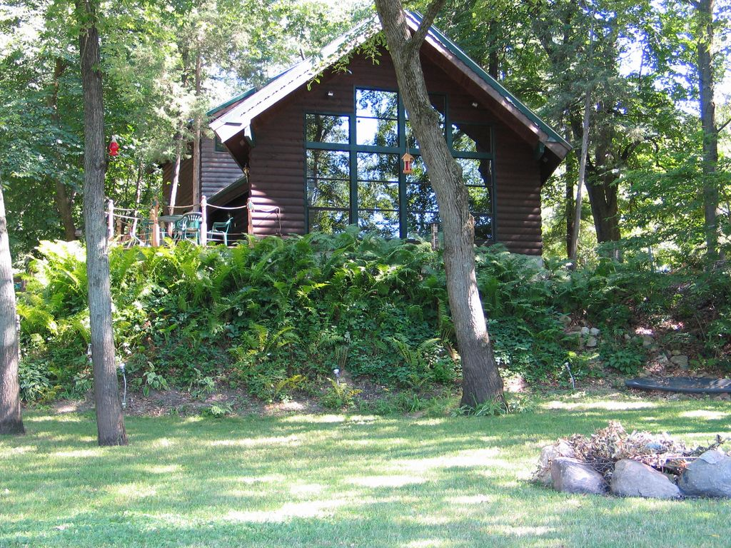 Beautiful cabin on the scenic wisconsin vrbo for Vrbo wisconsin cabins