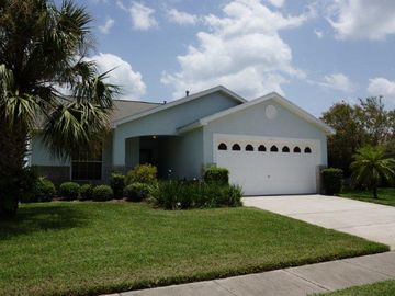 Kissimmee house rental - Front view - Kissimmee, FL vacation rental villa with private pool near Disney