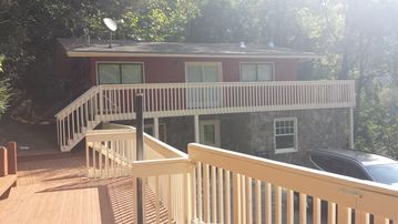 Cullowhee cottage rental - River ViewCottage, newly remodeled with multiple decks for entertaining!