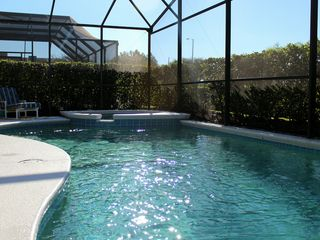 Windsor Palms villa photo - 33' south-facing pool & jacuzzi
