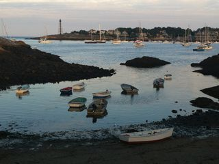 Marblehead apartment photo - View of lighthouse from the foot of Ft.Sewall, two blocks from our front door.